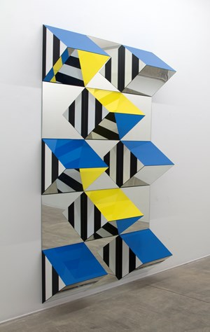 Photo-souvenir: Prisms and Mirrors, high reliefs, situated works 2016/2017 for São Paulo by Daniel Buren contemporary artwork