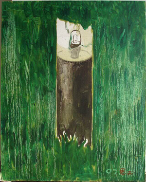 Road Lamp by Zhang Enli contemporary artwork