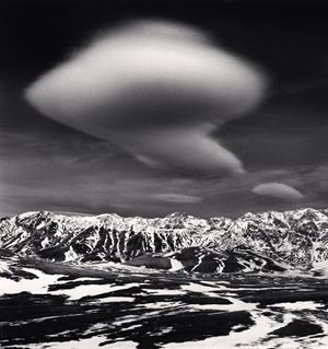 Curious Cloud by Michael Kenna contemporary artwork
