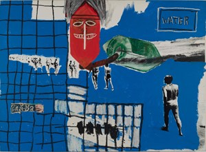 In Bianco by Andy Warhol, Francesco Clemente, Jean-Michel Basquiat contemporary artwork