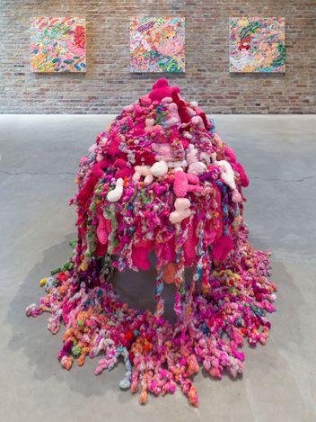 Exhibition view: Ayako Rokkau, Born in the Fluffy Journey, KÖNIG GALERIE, Berlin (26 June–25 July 2021). Courtesy KÖNIG GALERIE. Photo: Roman März.