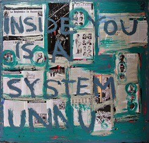 System by Brook Andrew contemporary artwork painting