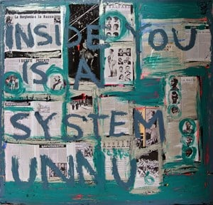 System by Brook Andrew contemporary artwork
