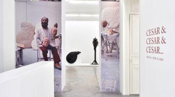 Contemporary art exhibition, César, César & César & César ... at Almine Rech, Rue de Turenne, Paris, France