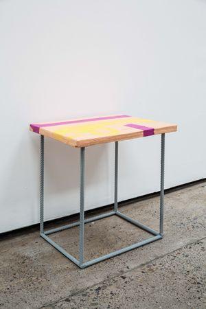 Untitled Stool 04 by Eva Rothschild contemporary artwork