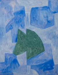 Composition abstraite by Serge Poliakoff contemporary artwork painting, works on paper