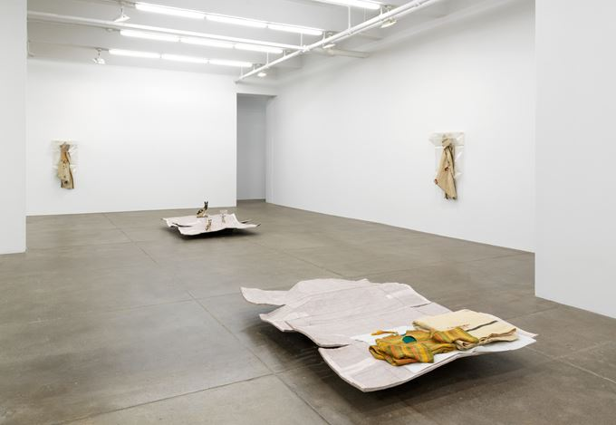 Exhibition view: Liz Magor, Previously..., Andrew Kreps Gallery, New York (27 October 2017–13 January 2018). Courtesy Andrew Kreps Gallery, New York.
