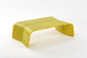 Murrina Low Table Yellow by Marc Newson contemporary artwork