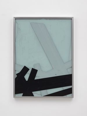 By physical or cognitive means (Broken Window Theory 5 July) by Ryan Gander contemporary artwork