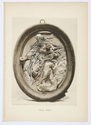 Bernini and Other Studies, Book I, Plate XXVI by Ann-Marie James contemporary artwork