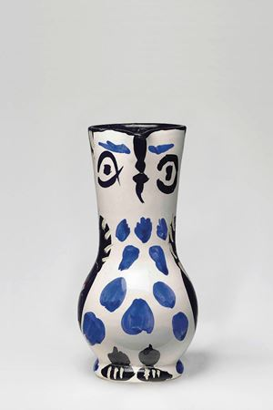 Small Owl Jug (Petit pichet de hibou) by Pablo Picasso contemporary artwork