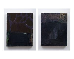 The Edge & The Dive by Biraaj Dodiya contemporary artwork painting