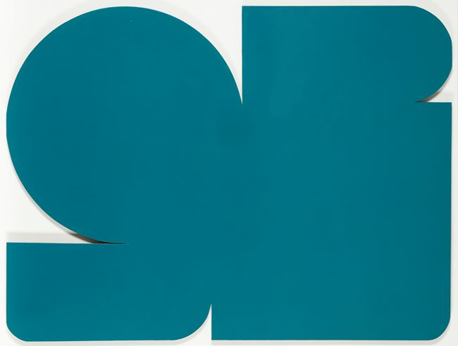 Forme Verte by Jo Delahaut contemporary artwork