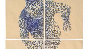 Contemporary art exhibition, Joëlle Bondil, Joelle Bondil, de mailles en fils at Galerie Laurentin, Paris - Bruxelles