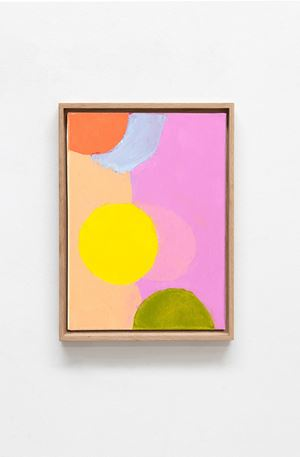 Satellites 11 by Etel Adnan contemporary artwork