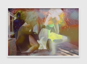 7477 by James Welling contemporary artwork