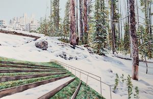 Green Spaces by Kevin Chin contemporary artwork