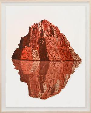 Reflejo Rojo by Dagoberto Rodríguez contemporary artwork