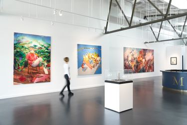 Exhibition view:Group exhibition, Autumn Contemporary, Maddox Gallery, Los Angeles (1 September–31 October 2021). Courtesy Maddox Gallery.