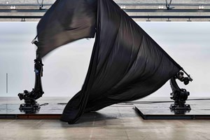 Black Flags by William Forsythe contemporary artwork
