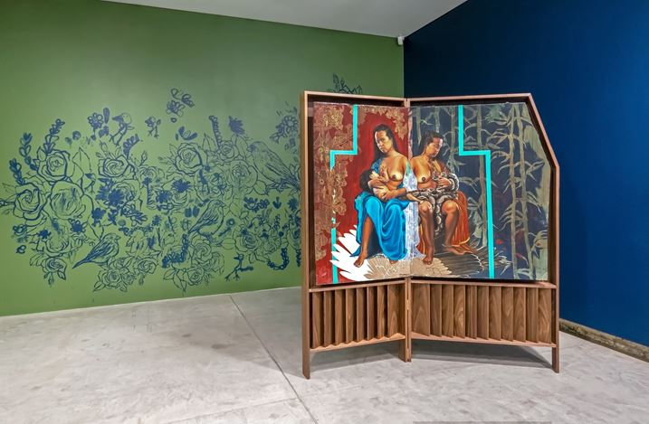 Exhibition view: Marikit Santiago, My Father's Son, Yavuz Gallery, Sydney (9–31 October 2020). Courtesy Yavuz Gallery.