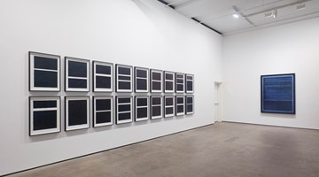Contemporary art exhibition, Idris Khan, Blue Rhythms at Sean Kelly, New York