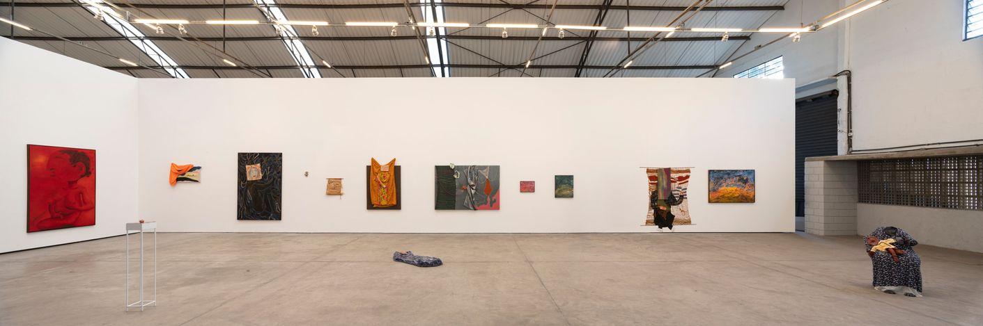 Exhibition view: Gokula Stoffel, Persona, Fortes D'Aloia & Gabriel, São Paulo (6 July–14 August 2021). Courtesy Fortes D'Aloia & Gabriel, São Paulo/Rio de Janeiro. Photo: Eduardo Ortega.