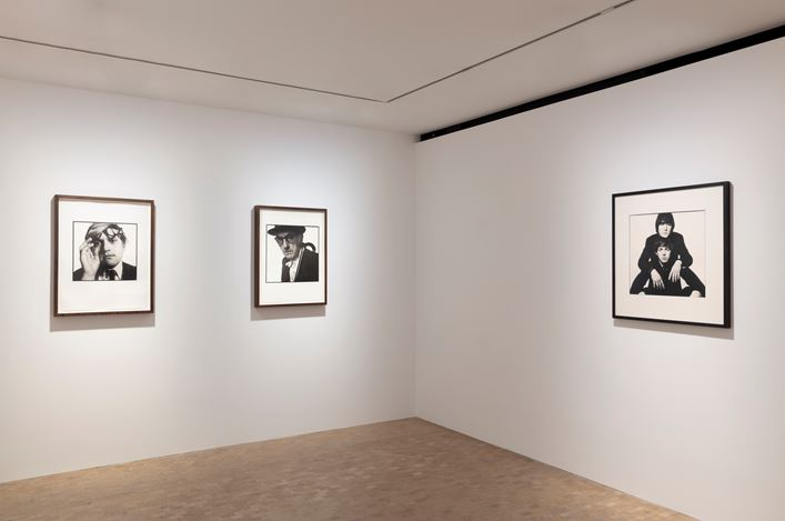 Exhibition view: David Bailey, The Sixties, Gagosian, Davies Street, London (14 February–30 March 2019). Artwork © David Bailey. Courtesy Gagosian. Photo: Lucy Dawkins.