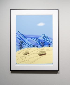 'Untitled No.24' from 'The Yosemite Suite' by David Hockney contemporary artwork