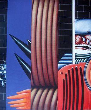 Guardiano by Sergio Sarri contemporary artwork painting