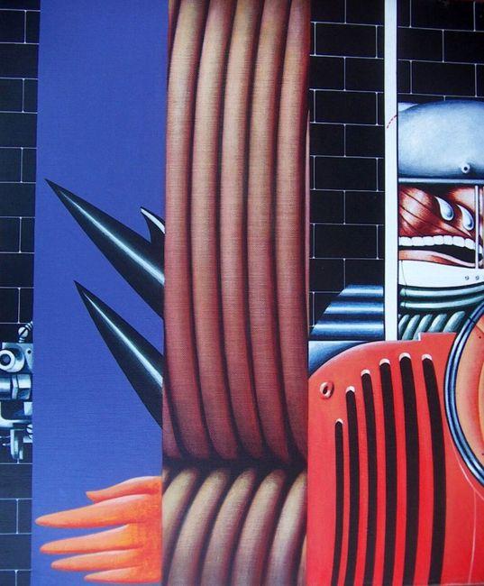 Guardiano by Sergio Sarri contemporary artwork