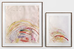 Untitled by Cy Twombly contemporary artwork