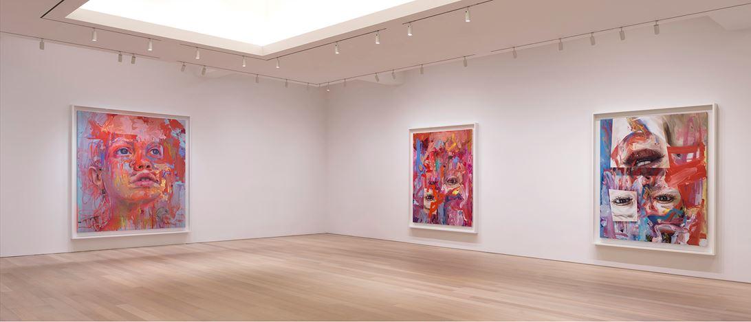 Exhibition view: Jenny Saville, Elpis, Gagosian, 980 Madison Avenue, New York (12 November–22 December 2020). © Jenny Saville. Courtesy Gagosian.Photo: Rob McKeever.