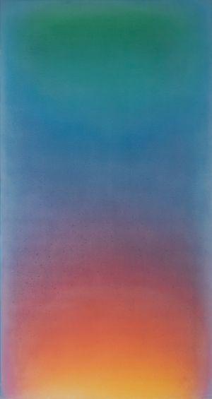 The Pool II by Leon Berkowitz contemporary artwork
