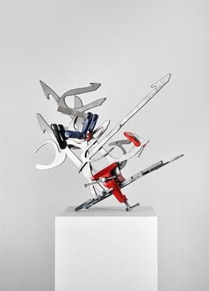 Calligraphy of Fire 01 by mounir fatmi contemporary artwork