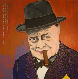 Churchill by Lee Waisler contemporary artwork