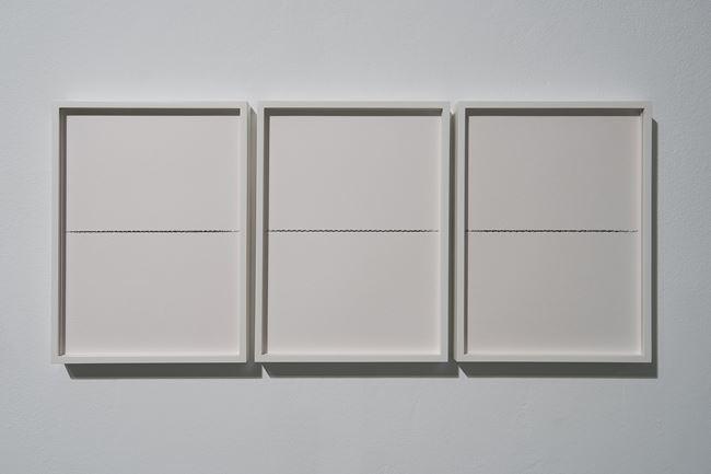 Ibn Khaldun (triptych) by Nicène Kossentini contemporary artwork