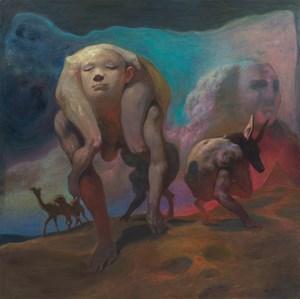 Sphinx by Xia Xiaowan contemporary artwork