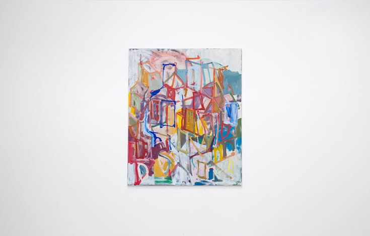 Exhibition view: Jake Walker, I am in Hobart, Gallery 9, Sydney (7 November–12 December 2020). Courtesy Gallery 9.