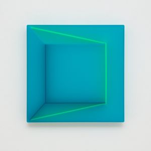 Blue Room by Kāryn Taylor contemporary artwork