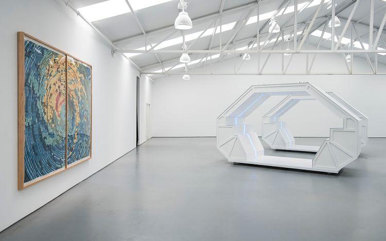 Exhibition view: Dagoberto Rodríguez, Weather report,Sabrina Amrani, Sallaberry, 52, Madrid (19 June–24 July 2021). Courtesy Sabrina Amrani, Madrid.