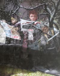 People's Daily by Li Tianbing contemporary artwork painting