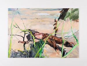 Arizona 6 by Brian Maguire contemporary artwork