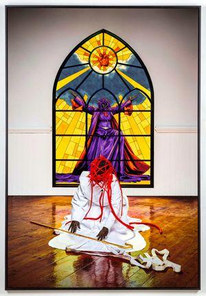 Turn, Turn, Turn, Turn by Mary Sibande contemporary artwork
