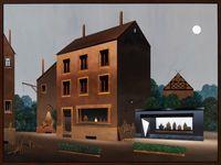 Die große Ladenstraße by Titus Schade contemporary artwork painting