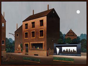 Die große Ladenstraße by Titus Schade contemporary artwork