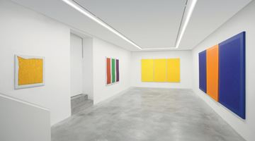 Contemporary art exhibition, Pino Pinelli, Monochrome (1973–1976) – Color as destiny and as Prophecy at Dep Art Gallery, Milan