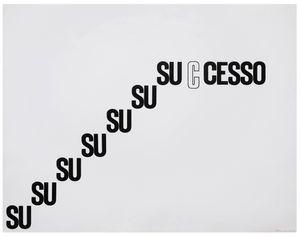 SUCCESS by Mirella Bentivoglio contemporary artwork