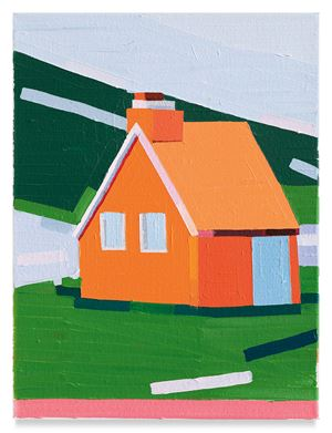 Orange House by Guy Yanai contemporary artwork