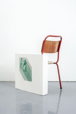 Screen Chair (Tenggren Green) by Matias Faldbakken contemporary artwork